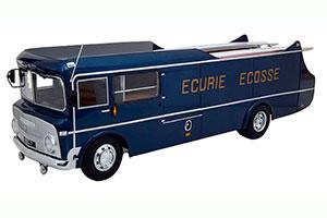 COMMER TS3 TEAMTRANSPORTER ECURIE ECOSSE 1959 BLUE SILVER JAGUAR D-TYPE NOT INCLUDED MODELCAR-FAHRZEUG DES JAHRES 2020