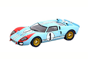 FORD GT40 MK 2 #1 THE REAL WINNER 24H LE MANS 1966 MILES/HULME FROM THE MOVIE LE MANS 66 MODELCAR-FAHRZEUG DES JAHRES 2020