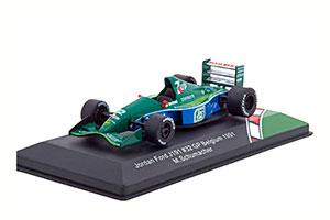 JORDAN FORD #191 GP BELGIUM FIRST RACE 1991 MICHAEL SCHUMACHER