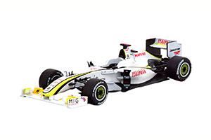 BRAWN GP BGP 001 GP BRAZIL WORLD CHAMPION 2009 BUTTON