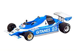 LIGIER JS11 WINNER GP SPAIN 1979 DEPAILLER WITH DECALS