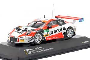 PORSCHE 911 (991) GT3 R WINNER GT-MASTERS 2018 RENAUER/JAMINET MADE BY IXO