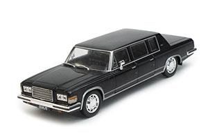 ZIL 4104 GOVERNMENT (USSR RUSSIA CAR) 1975 BLACK | ЗИЛ-4104 АВТОЛЕГЕНДЫ СССР #58 (ТОЛЬКО МОДЕЛЬ) *ЗИЛ ЗАВОД ИМЕНИ ЛИХАЧЕВА
