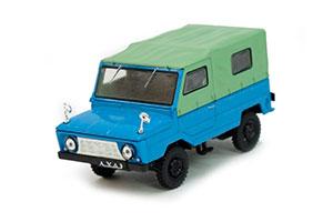LUAZ-969 VOLYN (USSR RUSSIAN) 1979 BLUE/GREEN   ЛУАЗ-969 ВОЛЫНЬ АВТОЛЕГЕНДЫ СССР #70
