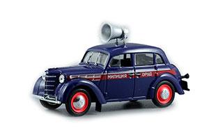 MOSKVICH 400-420 ORUD POLICE 1946 BLUE CAR AT SERVICE #6 | МОСКВИЧ 400-420 ОРУД АВТОМОБИЛЬ НА СЛУЖБЕ #6 *МОСКВИЧ