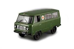 UAZ 450A AMBULANCE CAR AT SERVICE #27 1958 (USSR RUSSIAN CAR) | АВТОМОБИЛЬ НА СЛУЖБЕ #27 УАЗ 450А МЕДИЦИНСКИЙ *УАЗ УЛЬЯНОВСКИЙ АВТОЗАВОД