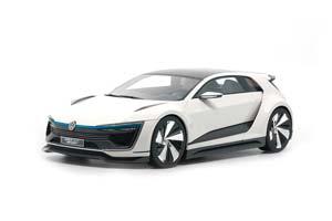 VW VOLKSWAGEN GOLF GTE SPORT CONCEPT 2015 WHITE