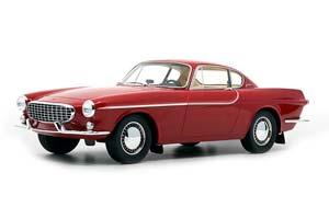 VOLVO P1800 JENSEN 1961 RED