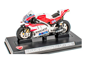 DUCATI DESMOSEDICI GP 2016 RED/WHITE *ДУКАТИ