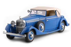 HISPANO SUIZA J12 DROPHEAD COUPE BY FERNANDEZ DARRIN (PARIS) FULLY CLOSED, 1934 СИНИЙ