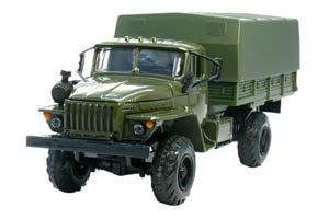 URAL 43206 (USSR RUSSIA) GREEN | УРАЛ 43206 ЗЕЛЁНЫЙ