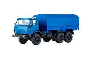 KAMAZ 4310 WITH BLUE TENTOM (USSR RUSSIAN TRUCK) | КАМАЗ 4310 С ТЕНТОМ СИНИЙ