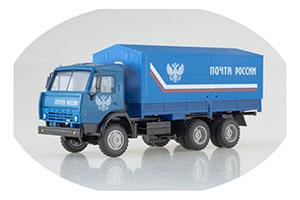 KAMAZ 53205 TENT RUSSIA POST (USSR RUSSIAN TRUCK) | КАМАЗ 53205 ТЕНТ ПОЧТА РОСИИ *КАМАЗ КАМСКИЙ АВТОЗАВОД