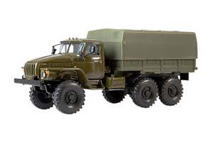 URAL 4320 (USSR RUSSIA) GREEN KHACKI| 4320 С ТЕНТОМ (ВЕСЬ ХАКИ)
