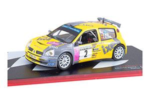 RENAULT CLIO S1600 ALBERTO HEVIA ALBERTO IGLESIAS RALLYE DE AVILES 2004 *РЕНО