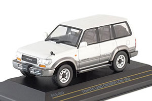 TOYOTA LAND CRUISER LC80 METALLIC-WHITE/SILVER