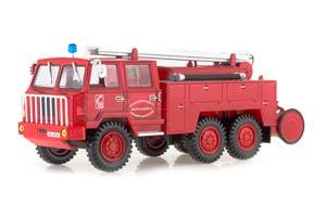 BERLIET FF 6X6 FIRE DEPARTMENT SDIS MEURTHE ET MOSELLE RED *БЕРЛИЕ