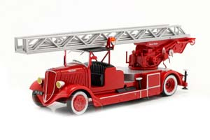 DELAHAYE TYPE 103 FIRE DEPARTMENT WITH TURNTABLE LADDER RED *ДЕЛАХАЙ ДЭЛАХАЙЕ