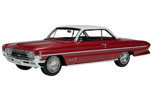 OLDSMOBILE 98 1961 METALLIC RED LIMITED 149 PCS