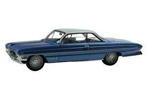 OLDSMOBILE 98 1961 METALLIC BLUE