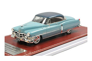 CADILLAC SERIES 62 COUPE 1951 LIGHT BLUE/BLUE