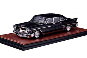 CADILLAC FLEETWOOD 75 LIMOUSINE 1958 BLACK