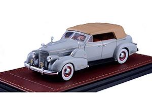 CADILLAC V16 SERIES 90 FLEETWOOD SEDAN CONVERTIBLE (CLOSED) 1938 GREY *КАДИЛАК КАДИЛЛАК КЭДИ