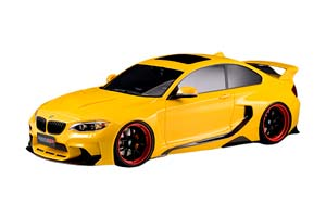 BMW M235 MTC BLACK SAILS WIDEBODY DARWINPRO 2015 YELLOW *БМВ БИМЕР БУМЕР