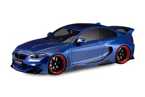 BMW M235 MTC BLACK SAILS WIDEBODY DARWINPRO 2015 BLUE *БМВ БИМЕР БУМЕР