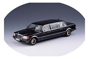 MERCEDES W126 SGS ROYAL LWB 1985 BLACK