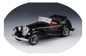 MERCEDES W18 290A CABRIOLET A OPEN ROOF 1936 BLACK