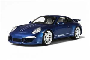PORSCHE 911 (991) CARRERA 4S 2013 BLUE METALLIC/WHITE LIMITED EDITION 1000 PCS.