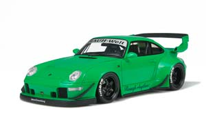 PORSCHE 911 (993) RWB 1995 GREEN LIMITED EDITION 3000 PCS.
