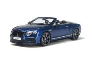 BENTLEY CONTINENTAL GT V8S CONVERTIBLE 2014 BLUE METALLIC LIMITED EDITION 1000 PCS. *БЕНТЛЕЙ БЕНТЛИ БЕНТЛЮ