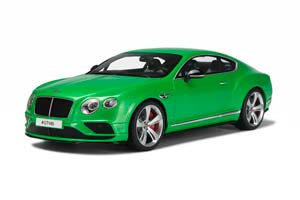 BENTLEY CONTINENTAL GT V8S COUPE 2015 GREEN METALLIC LIMITED EDITION 1000 PCS. *БЕНТЛЕЙ БЕНТЛИ БЕНТЛЮ