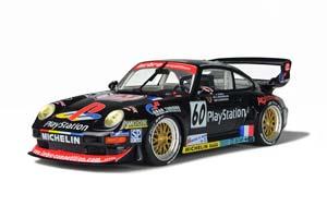 PORSCHE 911 (993) GT2 #60 24H LE MANS 1998 PLAYSTATION JARIER/ROSENWALD/DONOVAN LIMITED EDITION 1500 PCS.