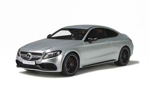 MERCEDES C-CLASSE C 63 S AMG COUPE 2015 SILVER