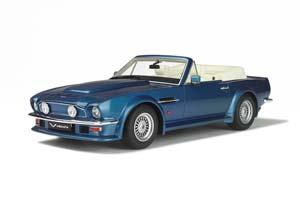 ASTON MARTIN V8 VANTAGE VOLANTE 1977 BLUE