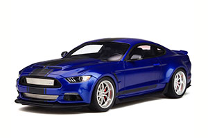 FORD SHELBY GT-350 WIDEBODY 2020 BLUE/BLACK STIPES