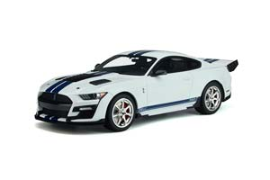 SHELBY GT500 DRAGON SNAKE 2020 WHITE BLUE LIMITED EDITION 1200 PCS