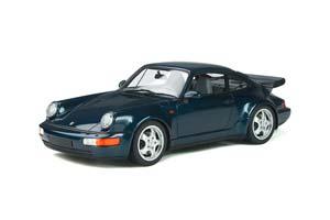 PORSCHE 911 (964) TURBO 3.3 COUPE 1991 BLUEMETALLIC LIMITED EDITION 999 PCS