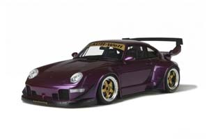 PORSCHE 911 (993) RWB 1993 PURPLE VIOLET METALLIC LIMITED EDITION 3000 PCS.