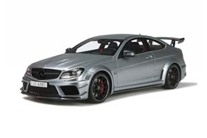 Mercedes C63 AMG Coupe Black Series 2016 Silver