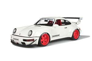 PORSCHE 911 (964) RWB RAUH WELT HOONIGAN 1993 WHITE