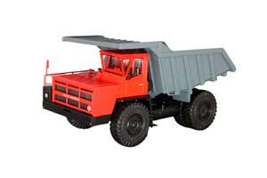 BELAZ-7540 DUMP-CARGO TRUCK RED/GRAY (USSR RUSSIA)   БЕЛАЗ-7540 САМОСВАЛ-УГЛЕВОЗ КРАСНЫЙ/СЕРЫЙ *БЕЛАЗ БЕЛАРУССКИЙ АВТОЗАВОД