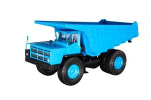 BELAZ-7527 DUMP-COAL CARRIER BLUE (USSR RUSSIA)   БЕЛАЗ-7527 САМОСВАЛ-УГЛЕВОЗ СИНИЙ *БЕЛАЗ БЕЛАРУССКИЙ АВТОЗАВОД