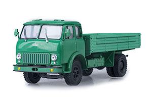 MAZ 500 ON BOARD LIGHT GREEN 1973 (USSR RUSSIAN)   МАЗ-500 БОРТОВОЙ СВЕТЛО-ЗЕЛЕНЫЙ *МАЗ