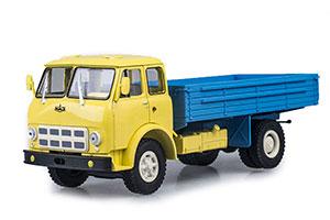MAZ 500A ONBOARD YELLOW /BLUE (USSR RUSSIAN)   МАЗ-500А БОРТОВОЙ ЖЕЛТЫЙ/ГОЛУБОЙ *МАЗ