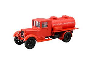 URALZIS-355 FIRE TANK TRUCK URALZIS-355 AC RED (USSR RUSSIA)   УРАЛЗИС-355 ПОЖАРНАЯ АВТОЦИСТЕРНА УРАЛЗИС-355 АЦ КРАСНЫЙ