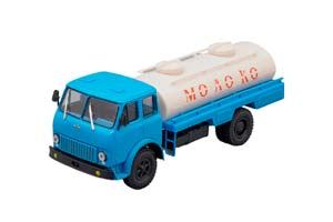 MAZ ASRT-62 MILK BLUE/WHITE (USSR RUSSIA)   МАЗ АСРТ-62 МОЛОКО ГОЛУБОЙ/БЕЛЫЙ